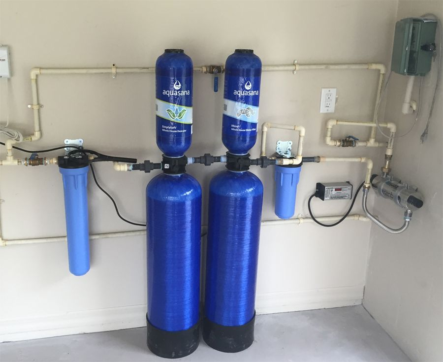 A Very Nice Aquasana Water Filtration System Install By