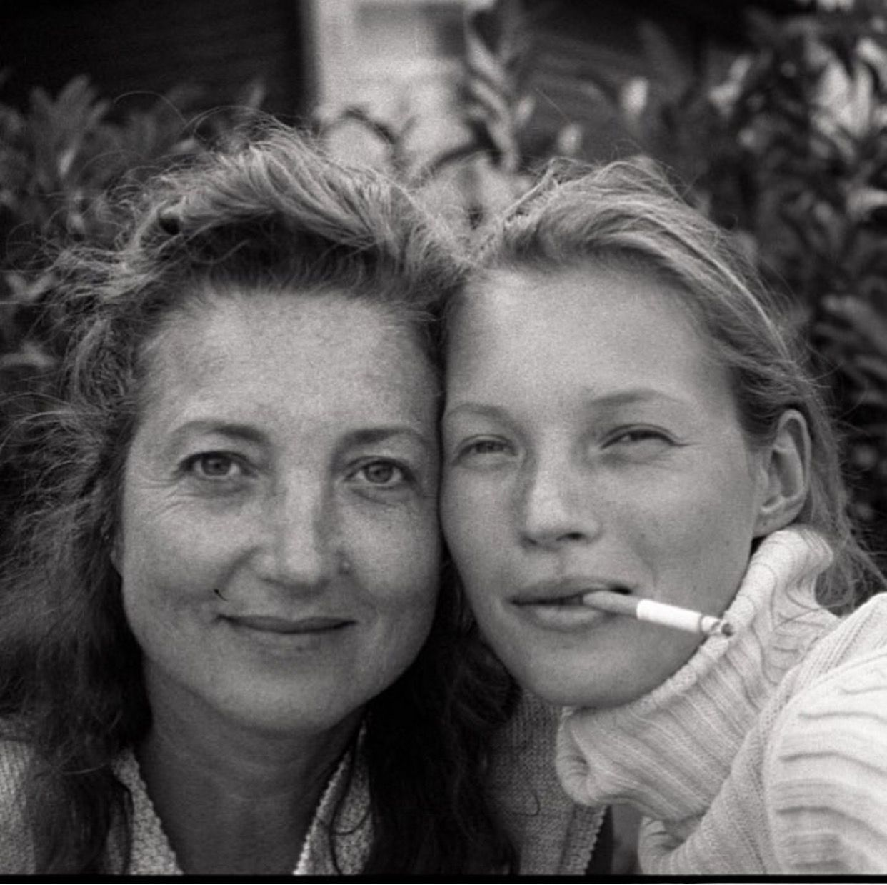 kate moss and her mother