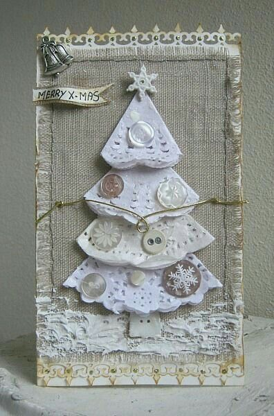 En forma de Árbol de Navidad~*Vintage*~