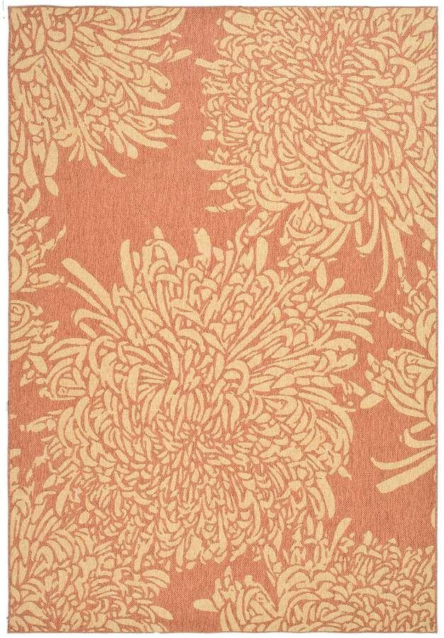 Martha Stewart Chrysanthemum 4 X 5 7 Rug Qvc Com Rugs Beige Area Rugs Colorful Rugs