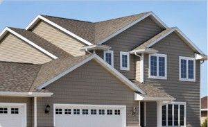 How Much Does Vinyl Siding Cost To Install Vinyl Siding Vinyl Siding House House Vinyl Siding Colors