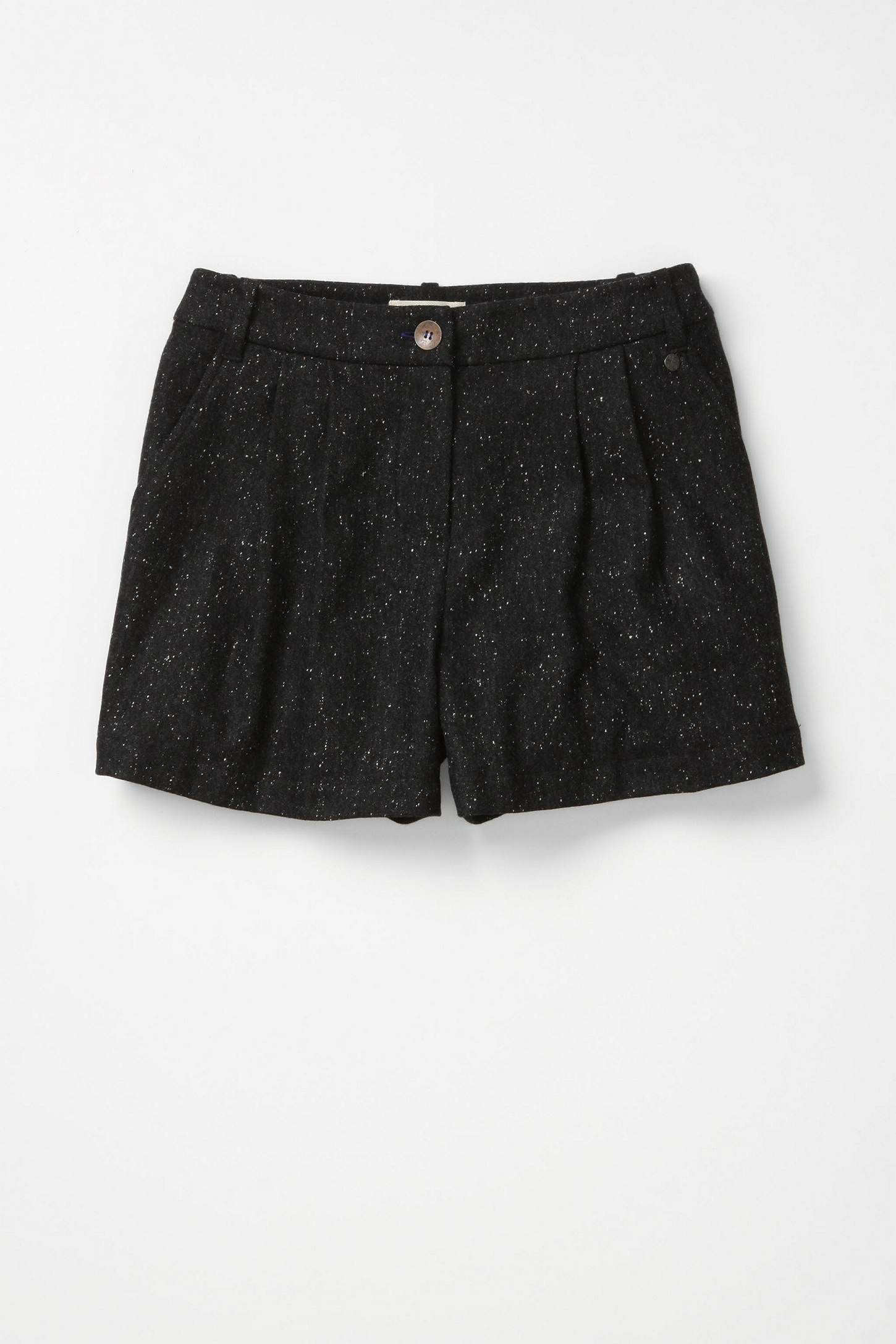 Really cute winter shorts on sale at Anthropologie!