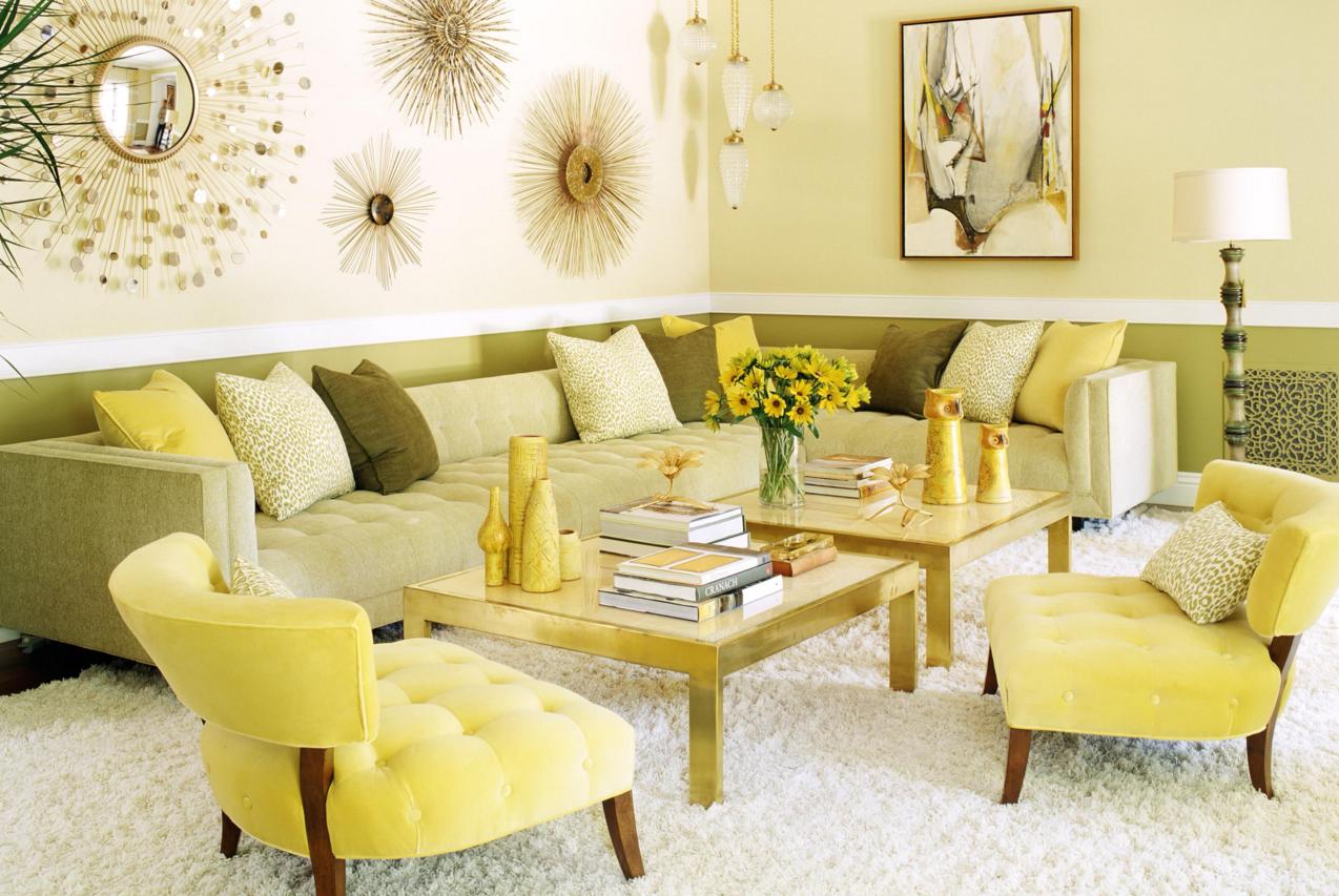 Monochromatic Interior Designs Living Room Lighting Design
