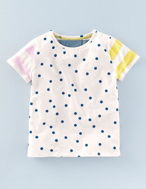 Stripy Hotchpotch T-shirt 30007 Graphic T-Shirts at Boden | Clothing ...