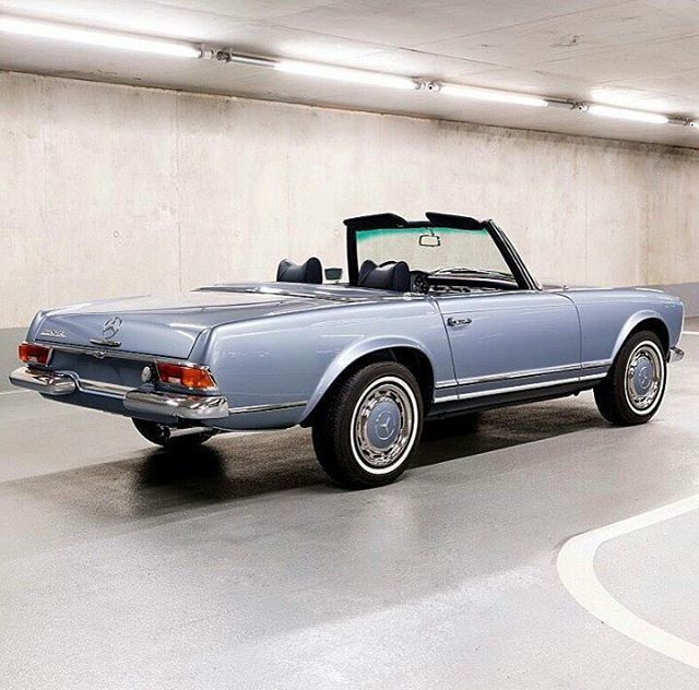 1970 Mercedes-Benz 280SL W113. From Classiccarvoyage (With