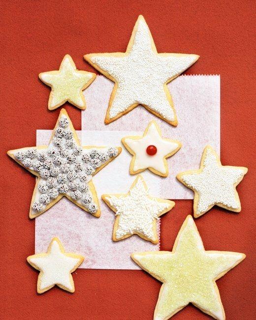 Basic Sugar Cookies Recipe from Martha Stewart. These make the best cutout cookies!