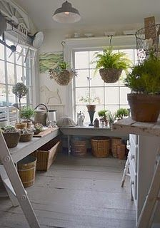 Potting Shed What Luxury To Have One Like This Garden Shed