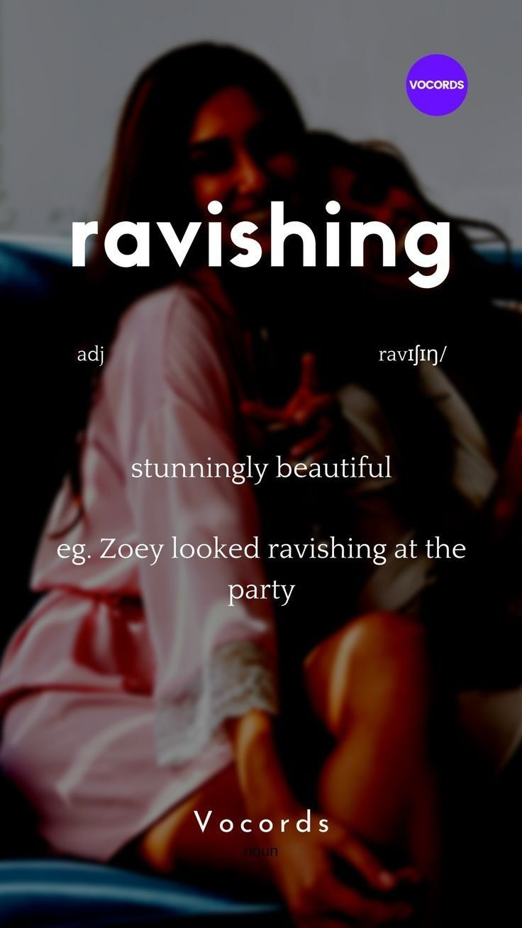 Ravishing Words 'n' wordz meaning. in 2020   Interesting