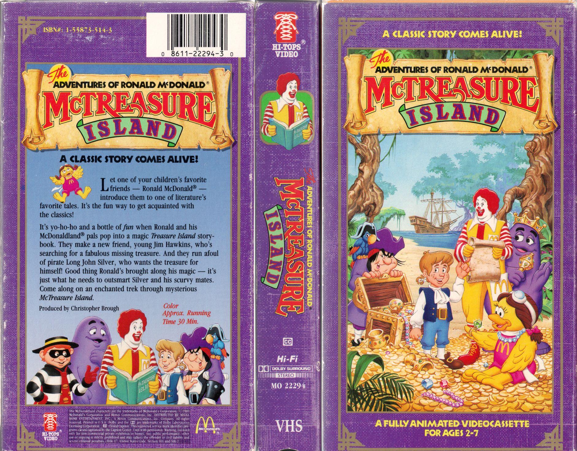 mcdonalds vhs Nostalgia Pinterest