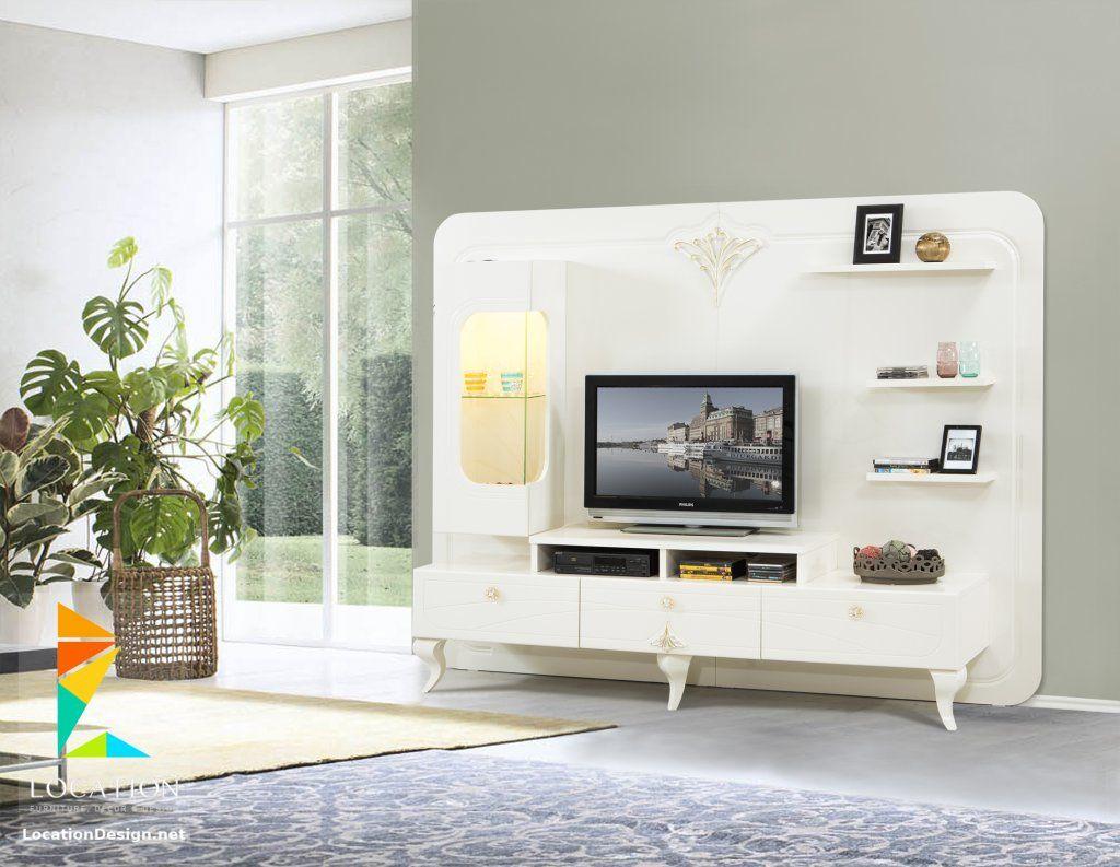 تصميم مكتبات مودرن 2019 افكار لتعليق التلفزيون في الجدار Home Home Decor Rak Tv