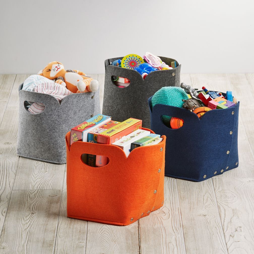 Button Things Up Around Your House With These Exclusive Snap Bins. The  Soft Sided. Cube StorageBasket ...