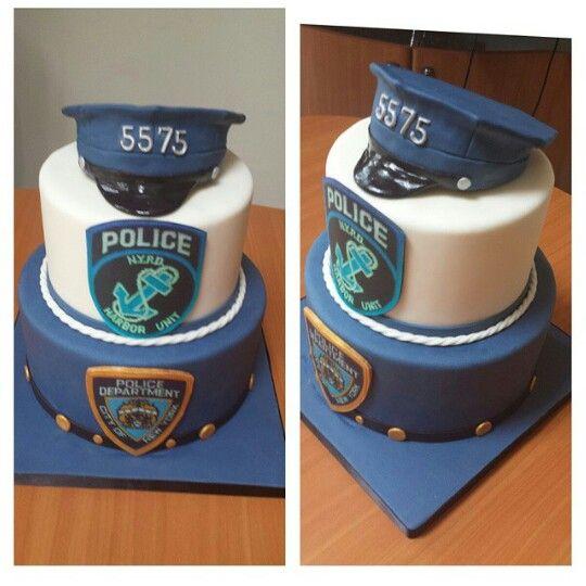 Miraculous Police Cake Police Cakes Police Birthday Cakes Police Birthday Funny Birthday Cards Online Hendilapandamsfinfo