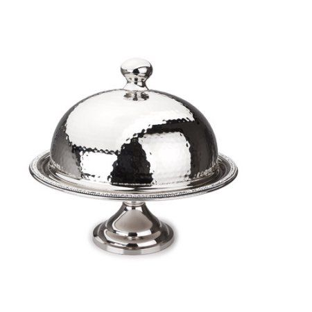 Classic Touch SDCD240 Hammered Stainless Steel Dome ($102.99) Cake ...