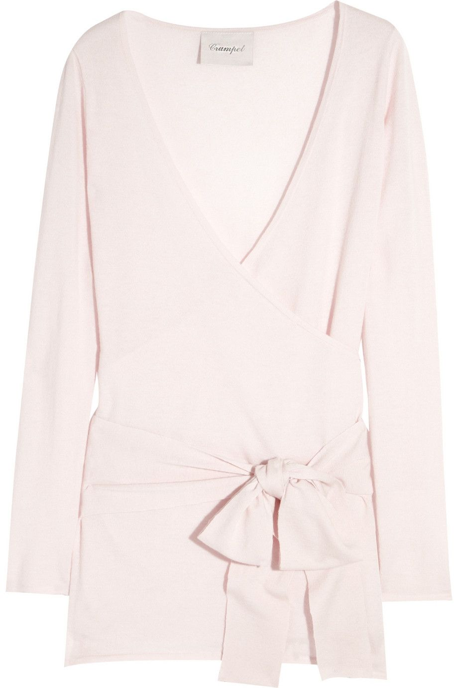 Pale pink ballerina cashmere wrap cardigan....someone please send ...