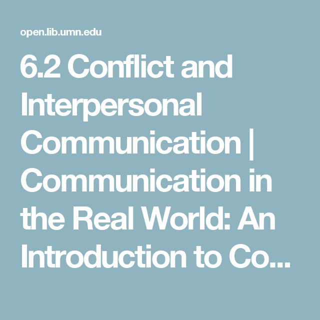 why study interpersonal communication
