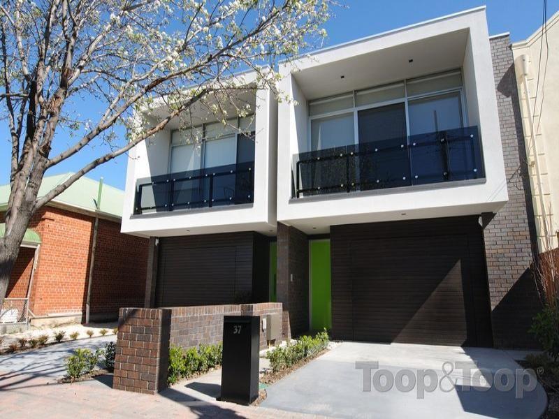 Balcony Bricks Contemporary Modern Rendered Semi Detached