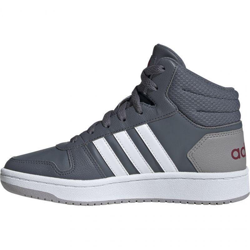 Buty Adidas Hoops Mid 2 0 Jr Ee6709 Szare Adidas High Top Sneakers Top Sneakers