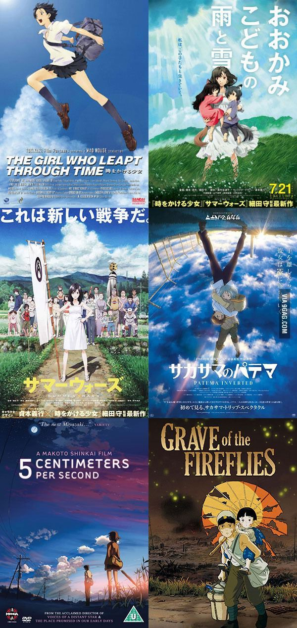 Mustwatch anime movies! Anime movies, Anime, Movies