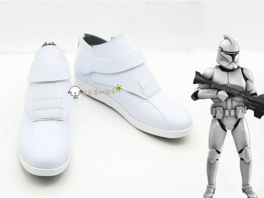 NEW Star wars clone troopers cosplay boots shoes costom made