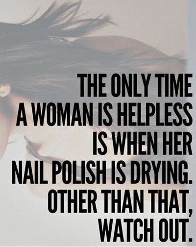 Funniest Memes - [The Only Time A Woman Is Helpless...] - FunniestMemes.com
