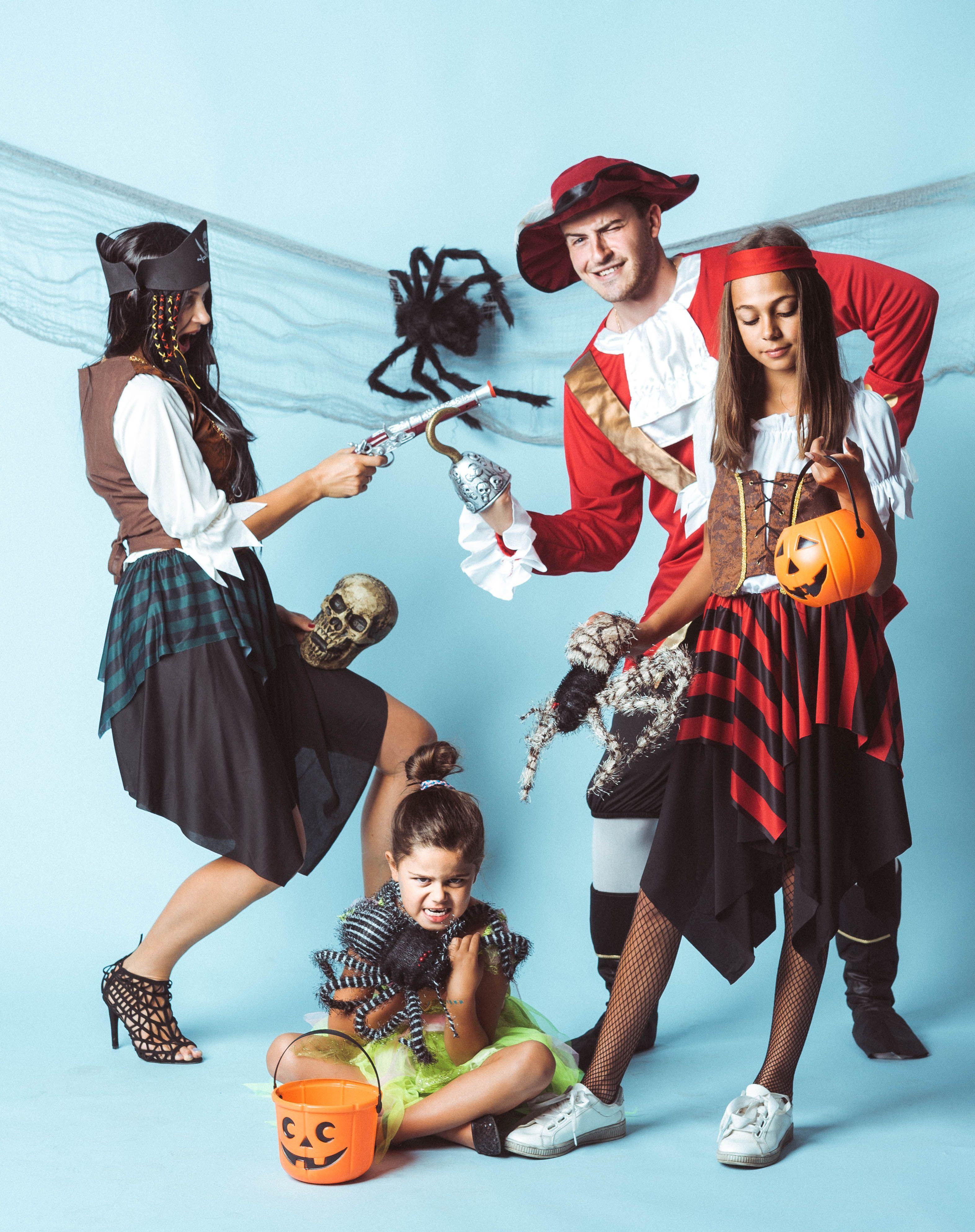 Pirackie Halloween,partybox.plstrojepająkidyniapirat