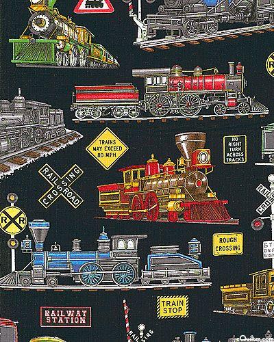 Train quilt
