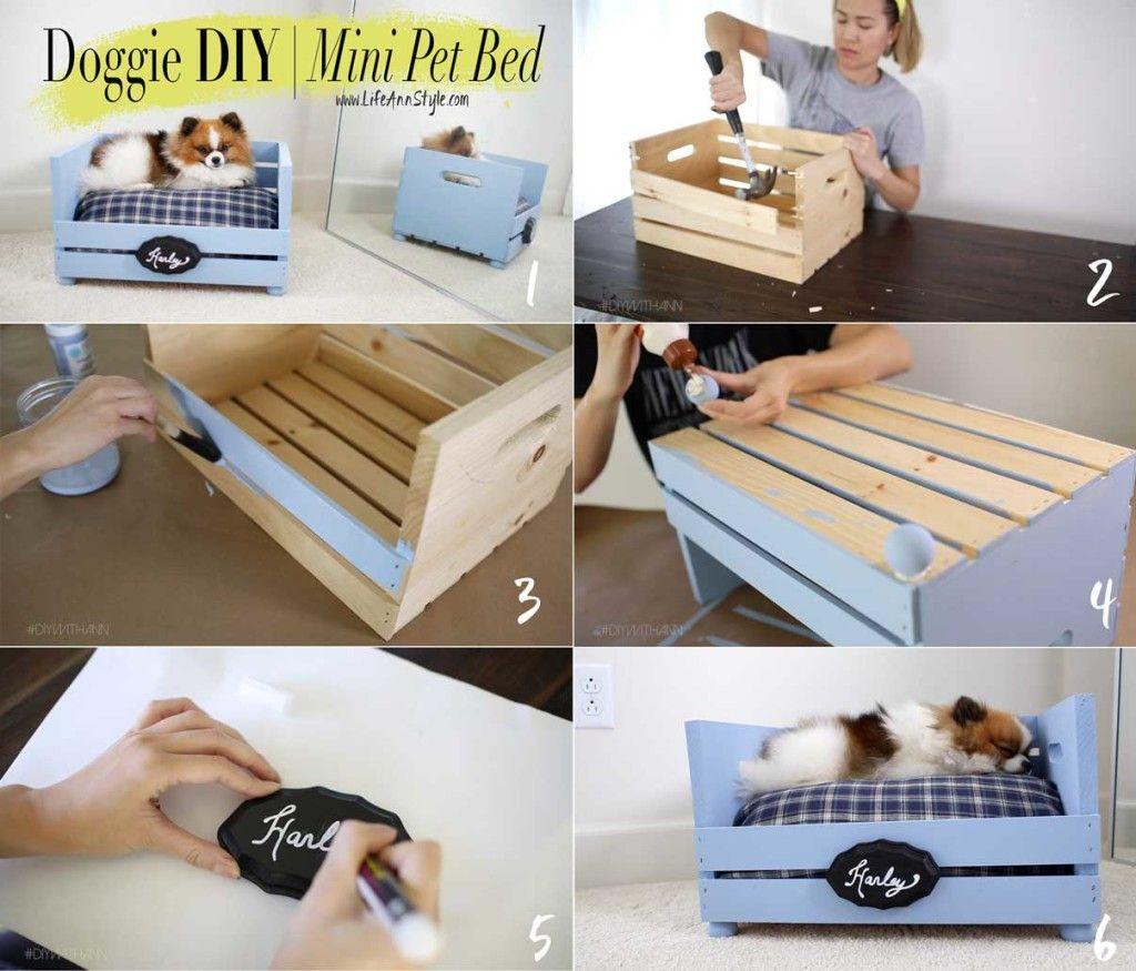 Make A Cute & Easy Pet Bed For Your Fur Baby!!! Lifeannstyle Doggie · Dog  Beds For Small