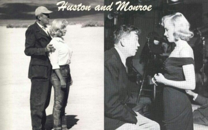 John Huston and Marilyn Monroe.  He directed The Asphalt Jungle, the first movie that Marilyn was really noticed in. He also directed her last movie ever, The Misfits