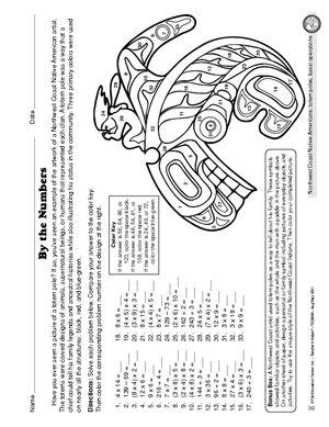 Worksheet: Northwest Coast Native Americans | Native American ...