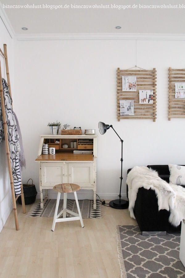 Wohnzimmer einrichten Ideen skandinavischer Wohnstil von Biancas