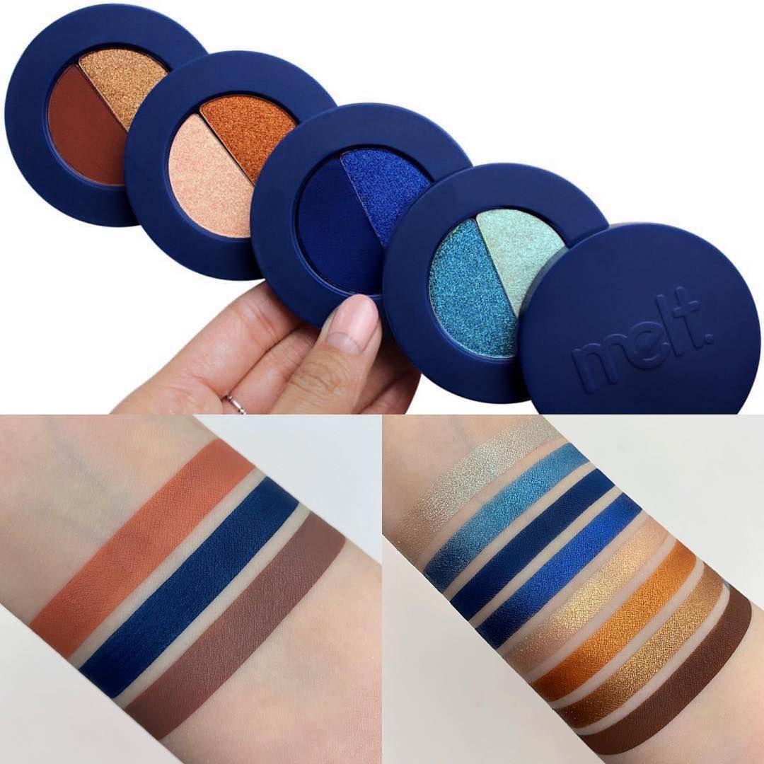 Melt Cosmetics Blue Print Eyeshadow Stack (avec images