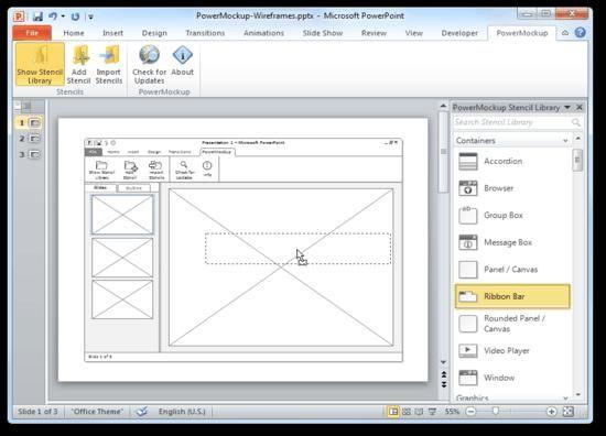 Web mockup tools