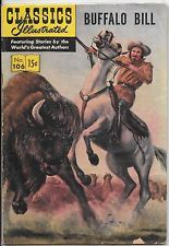 Classics Illustrated #106 Buffalo Bill  HRN 142