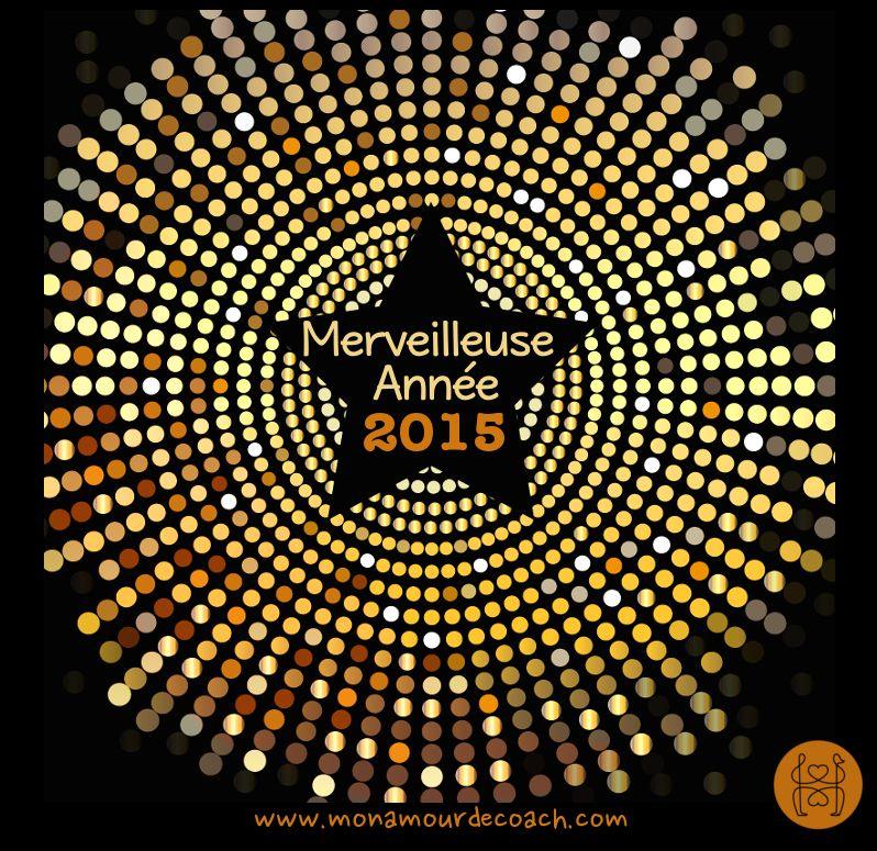 Merveilleuse année 2015 à tous <3