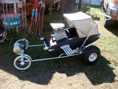 hot rod stroller