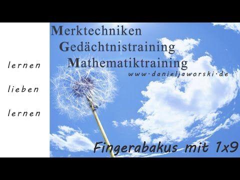 Vedische Mathematik Kassel - 1x9 der Fingerabakus rechnen lernen - YouTube