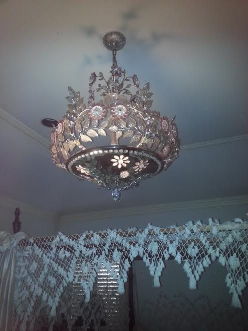 Maison bagues very rare ornate chandelier french 1940s crystal maison bagues very rare ornate chandelier french 1940s crystal aloadofball Image collections
