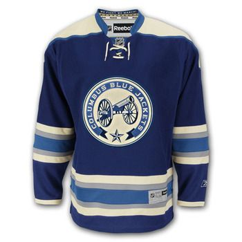 outlet store 2338b e5f15 Columbus Blue Jackets 3rd jersey. | Sports Logos, Hats ...