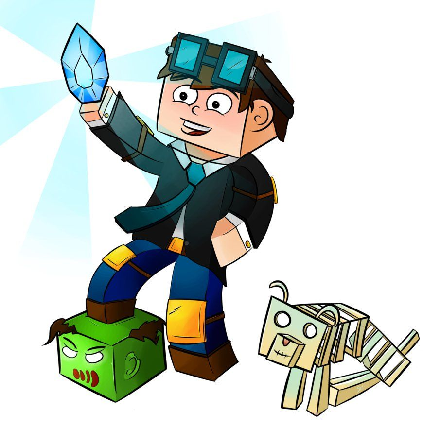 Dantdm Minecraft Artwork By Serranoyt On Deviantart