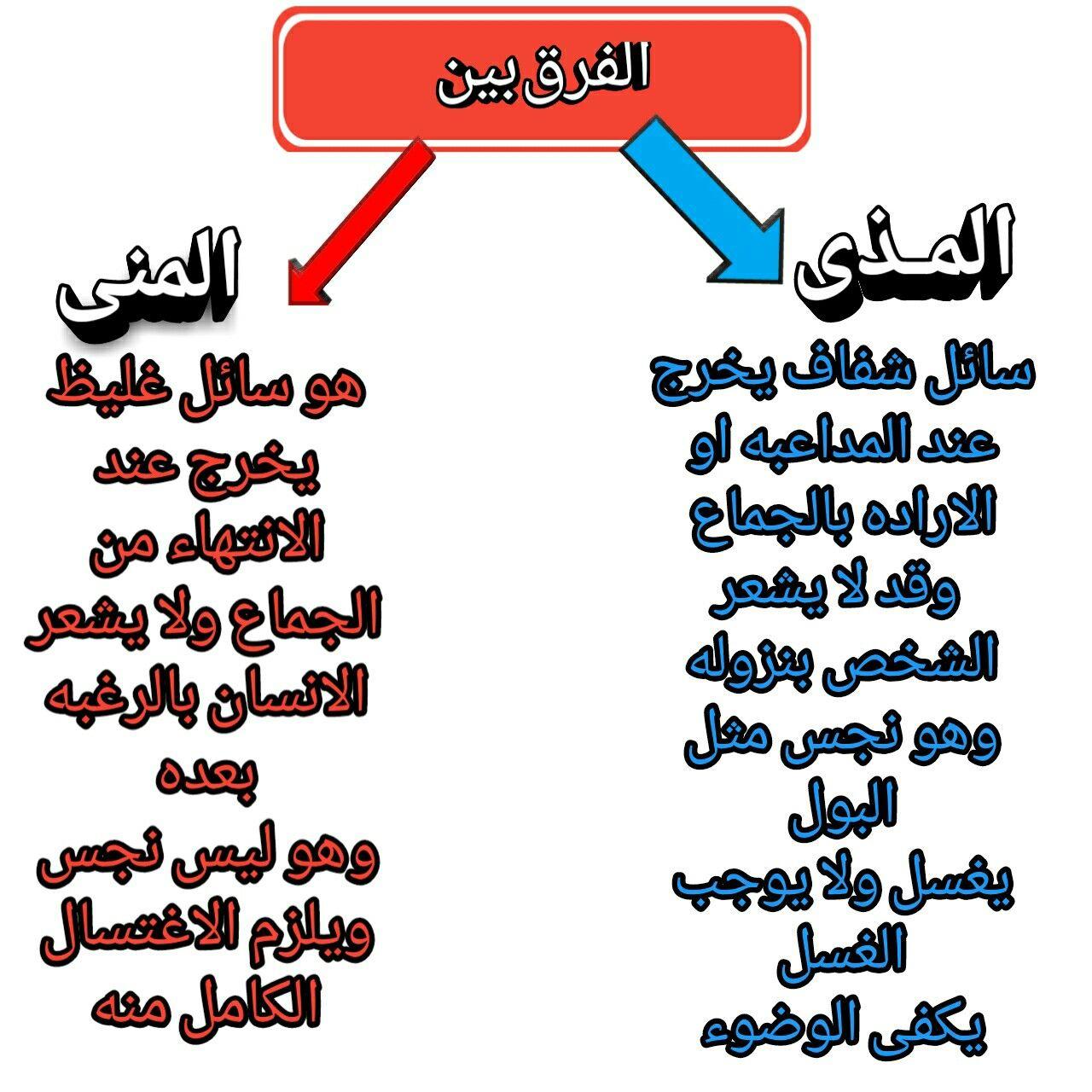 الفرق بين المنى والمذى المذى لا يبطل الصيام Arabic Calligraphy Calligraphy