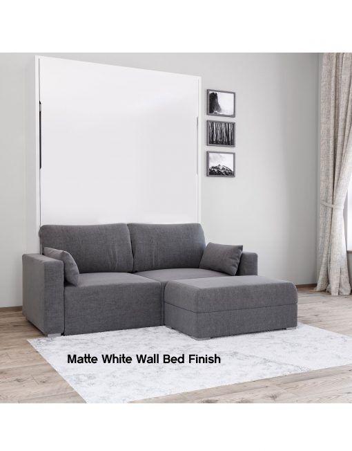 Murphysofa Minima Queen Mini Sectional Bed Wall Murphy Bed