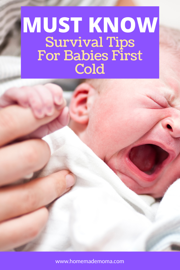Dealing With Baby Being Sick With A Cold in 2020 (With ...