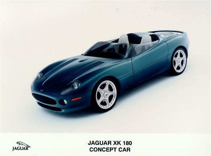 Exceptional 1998 Jaguar XK180 Concept Roadster