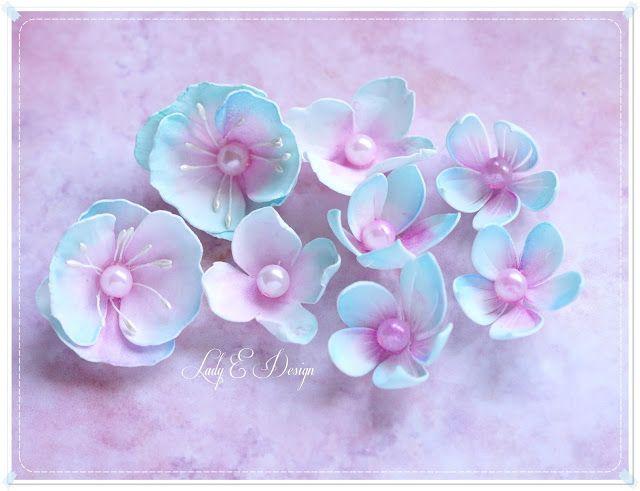 Handmade Foam Flowers Kwiatki Z Foamiranu Scrap Art By Lady E Handmade Flowers Heartfelt Creations Flowers Foam Flowers