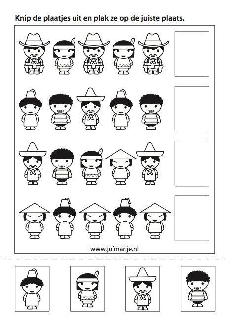 Pin by Andrejka Š. on Pracovní listy 1   Around the world theme, Kids  worksheets preschool, Math patterns