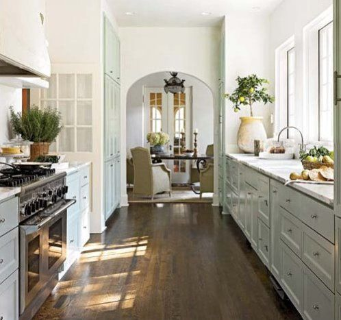 Great A Perfect Galley Style Kitchen | Content In A Cottage