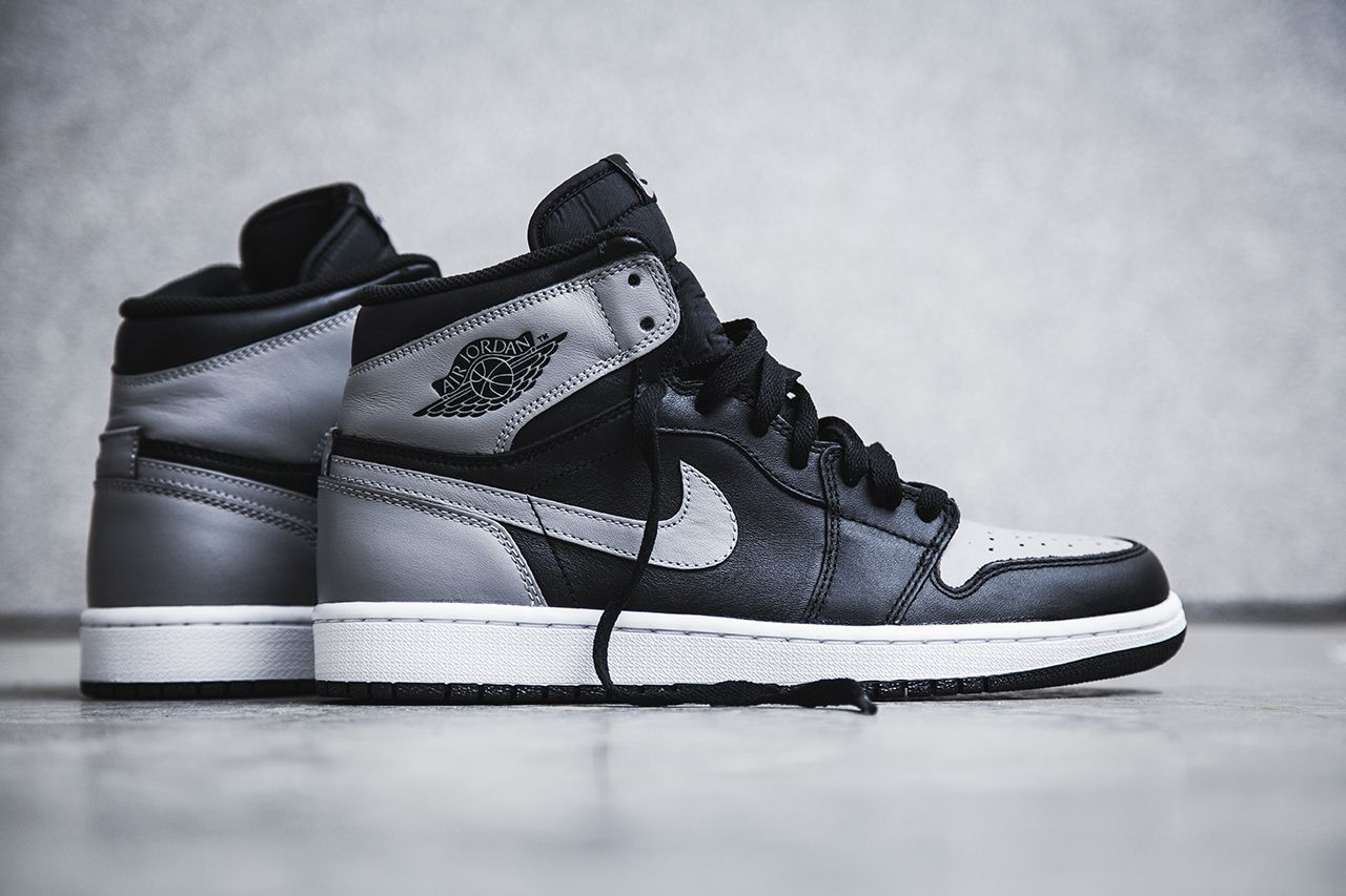 promo code 3721e b5d16 Air Jordan 1 Retro High OG Black Soft Grey