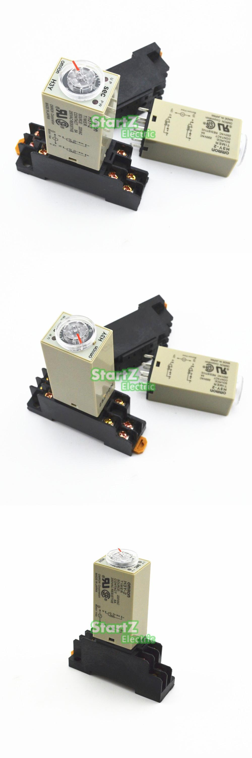 Visit To Buy H3y 2 Ac 220v Delay Timer Time Relay 0 30 Minute Related Links Electronic Switch More Circuit
