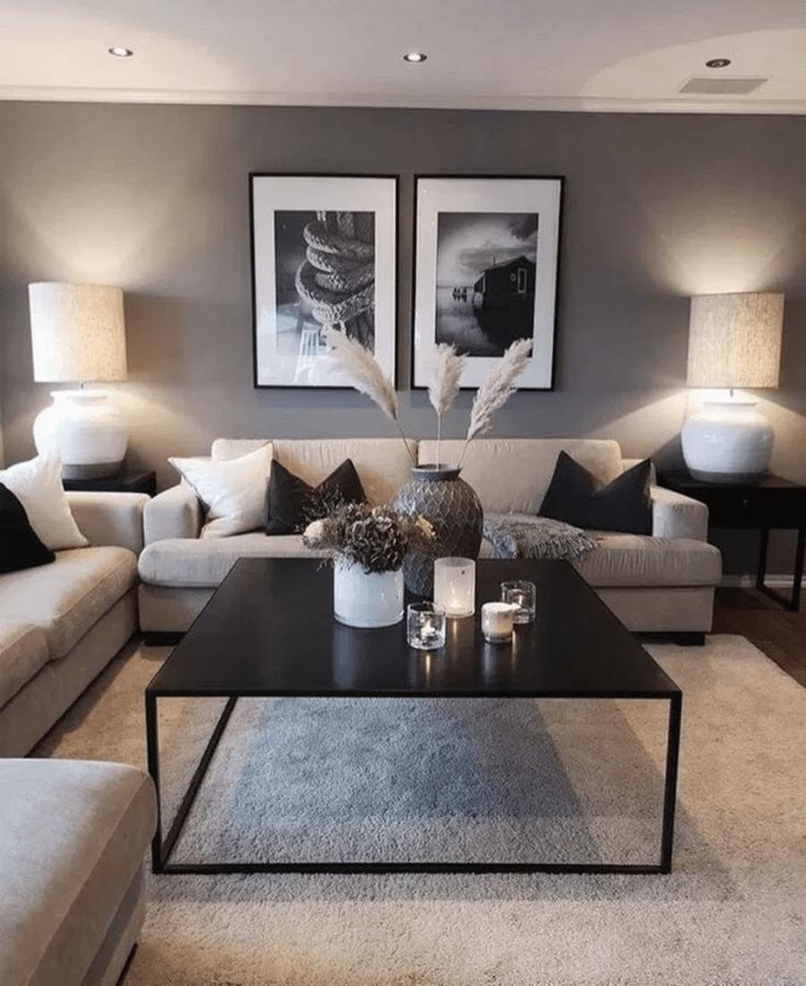 Fantastische gemütliche Wohnzimmer Design-Ideen, die Sie