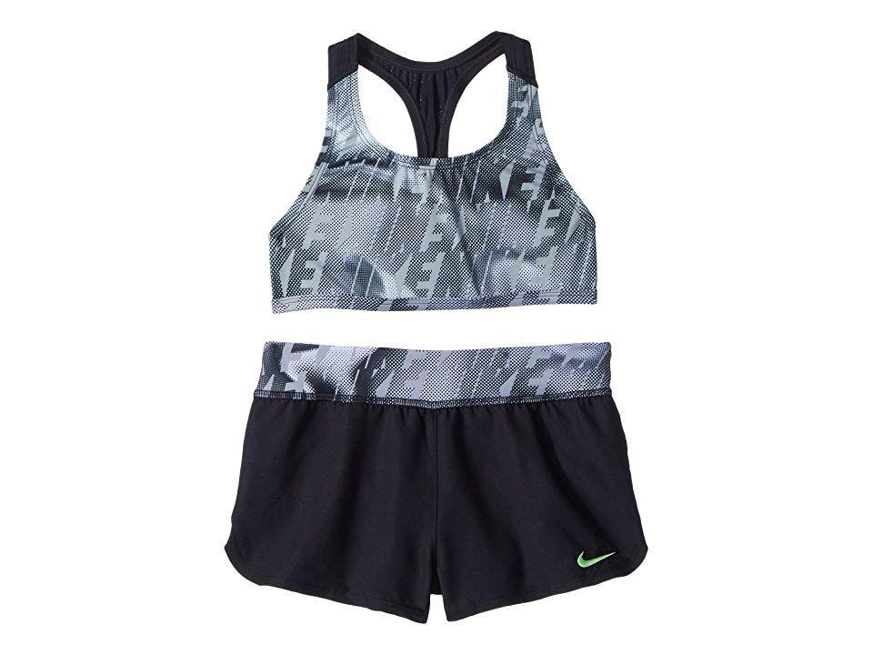 Nike Kids Girls Amp Axis Racerback Sport Tankini Set Big Kids